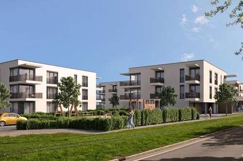Neubauprojekt Wohnpark Traun Gartenwohnung Haus 2/Top 1