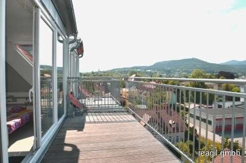 Moderne Terrassenmaisonette mit Traumfernblick
