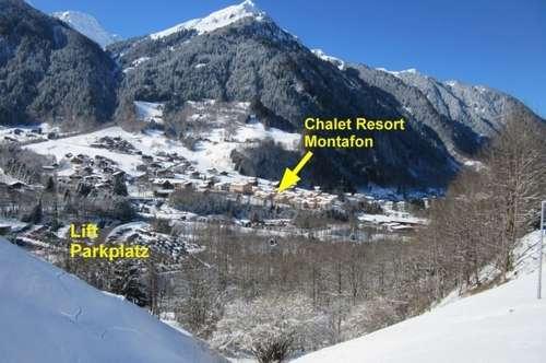 2 Zimmer Ferienwohnung im Chalet Resort Montafon St. Gallenkirch!