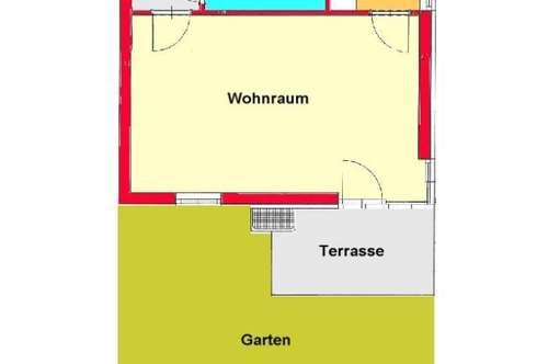 Garconniere mit Terrasse und Garten in Graz-Ragnitz - Nähe LKH