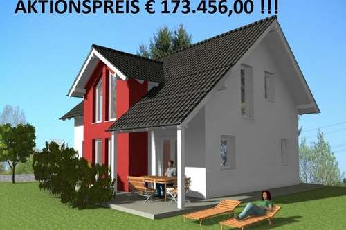 !!! AKTIONSPREIS !!! Ziegel Massivhaus Typ Satteldach !!!