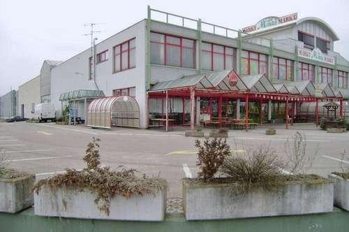 Einkaufsmarkt - Lagerhallen - Grund