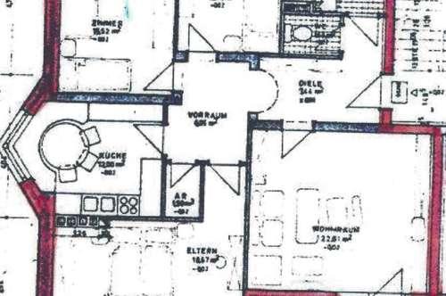 Haiming- 4 Zimmer Wohnung mit Südbalkon und Garage