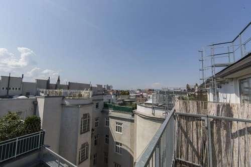 3-Zimmer DG-Wohnung mit 2 Terrassen nahe Kardinal-Nagl Platz unbefristet zu vermieten!