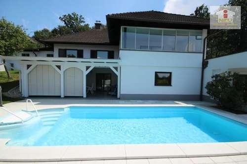 TOP generalsaniertes großes 335m² Wohnhaus (Zweifamilienwohnhaus) in St. Georgen am Sandhof bei Klagenfurt in Vorzugslage