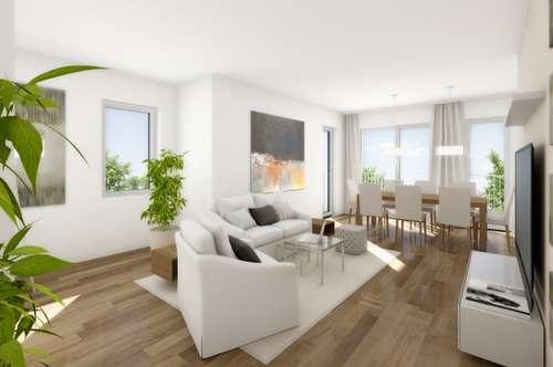 Neubau - tolle 3-Zimmerwohnung mit 30m² Balkon und Süd-West Ausrichtung