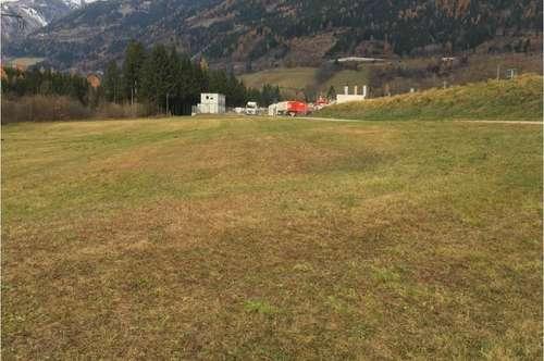 Gewerbegrundstück  6.851 m², teilbar  Nähe Spittal an der Drau