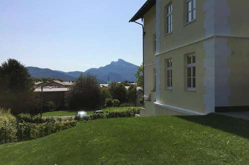 Seeliebhaber aufgepasst! 2-Zimmer Gartenwohnung mit Fernblick im Salzkammergut - ERSTBEZUG!