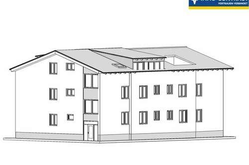 96m²-2Zi-DG-Wohnung mit Göttweig und Wachaublick