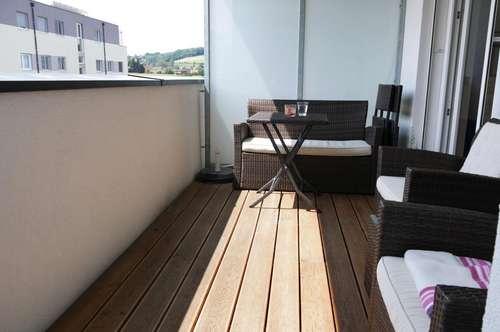 2 Zimmer Neubauwohnung mit Küche und Parkplatz in Leonding
