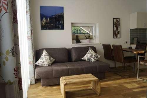 Apartment mit Terrasse und Bergblick