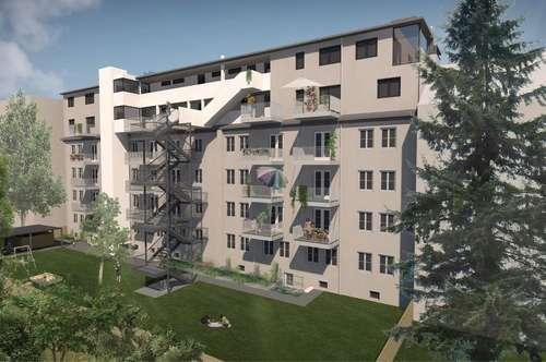 Easy Living in Leoben: 2 Zimmer-Wohnung - lichtdurchflutet, grün und zentral!