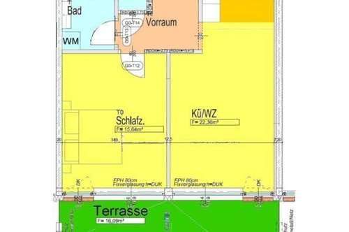 Neubau-Terrassenwohnung bei LKH
