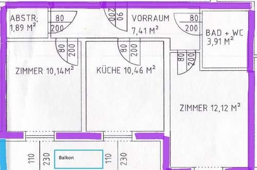 Eibiswald, geförderte Wohnung zu vermieten