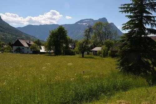 Bad Aussee, Grundstück mit Loser- Blick