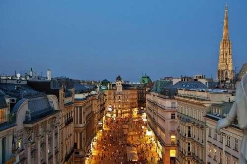 Innenstadt - Terrassenwohnung auf drei Ebenen
