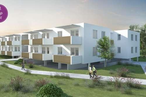Ruhige und dennoch zentrale Neubauwohnungen mit Balkon in Graz-Puntigam!