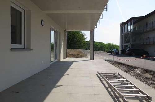 Neue Gartenwohnung in Steyregg, 85 m² WNFL + 26 m² Terrasse + ca. 100 m² Eigengarten, 2 KFZ-Abstellplätze!