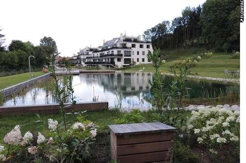 3400 Klosterneuburg, LUXUSANLAGE NIEDERENERGIE! 13.000m2 Parkgarten, 350m2 Schwimmteich usw. 151m2 plus 599m2 Eigengarten 2 Garagenplätze Euro 799.000