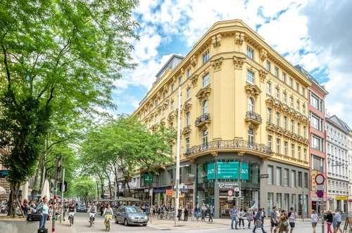 Modernisierte 4-Zimmer-Altbauwohnung mit Balkon und guter Raumaufteilung auf der Mariahilfer Straße 31 !!