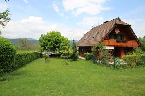Einfamilienhaus mit Seeblick in unmittelbarer Nähe zum Wörthersee!