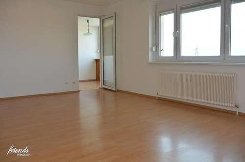 Gut geschnittene Wohnung mit schönem Weitblick