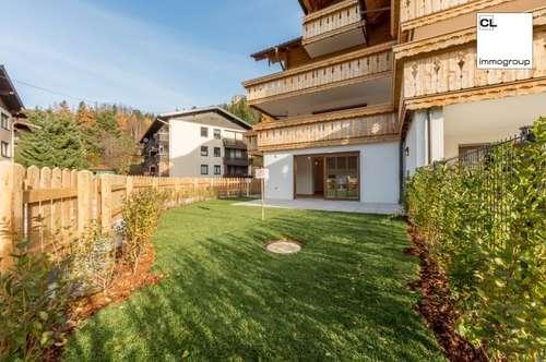 Erstbezug: Wunderschöne 3-Zimmerwohnung mit eigenem Garten in Fuschl am See