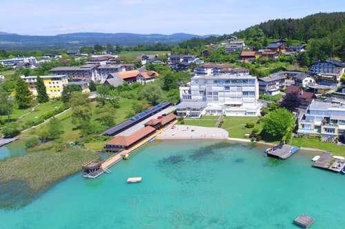 Exklusives SEEPenthouse mit großer Seeblickterrasse und Privatbadestrand