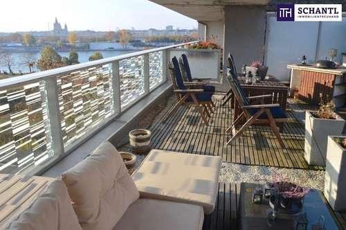 SCHNELL EINZIEHEN! Voll möblierte Luxus-Wohnung in absoluter Ruhelage und mit grandioser Terrasse!!!