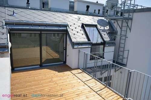 Hochwertiger Dachterrassen-Traum in Bestzustand - Herrliche Sonnenterrasse und Top-Ausstattung
