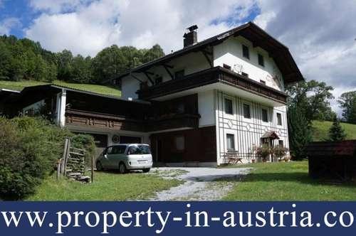 Ein riesiges Haus in der Nähe von Schi-Paradise Kreischberg.