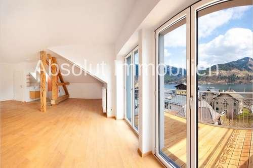 Generalsanierte Mietwohnung - Loft in wunderschöner Altbau-Villa, in bester Lage von Zell am See.