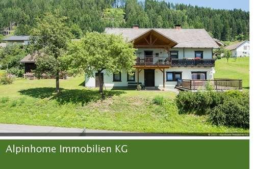 Einfamilienhaus mit großer Grundstücksfläche in St. Georgen im Gailtal - EXCLUSIV durch Alpinhome Immobilien