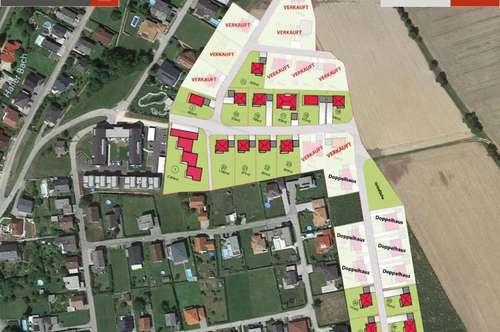 Bad Hall - Holznergut Einfamilienhäuser inkl. 700 m² Grund ab € 355.860,-