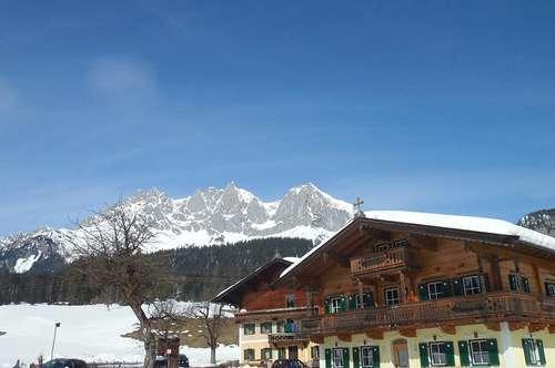 Luxuswohnungen im Bauernhaus in sagenhafter Alleinlage - Nähe Going /Kitzbühel