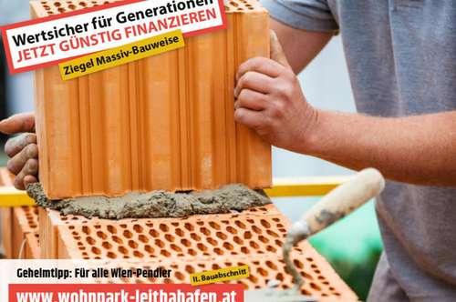 Doppelhaushälfte im Wohnpark Leithahafen! Haus 23 (Eckhaus!) -wpls