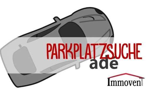 Parkplatzsuche adé ... Motorradstellplatz