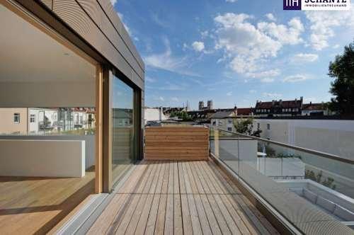 ITH: ATEMBERAUBEND! PENTHOUSE MIT PANORAMABLICK! Riesige Terrasse + Balkon + Lichtdurchflutet + Ruhelage!