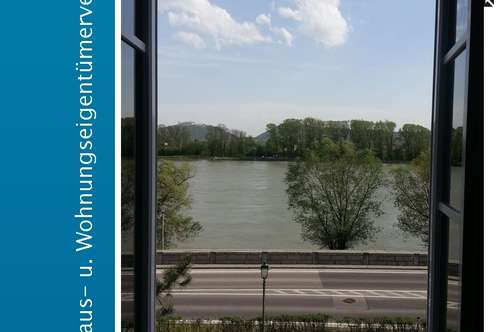 Sanierte Mietwohnung mit Donaublick