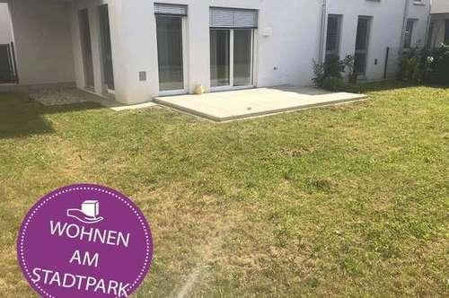Neubauwohnung mit großem Garten am Stadtpark ...!