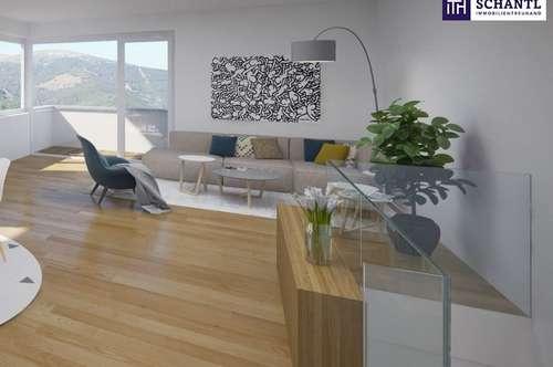 Hier schlägt das Herz höher: GENIAL EINGETEILTE Kleinwohnung mit 2 Zimmer + Terrasse + Grandiosen Ausblick + Photovoltaik inkl. in 8075 Hart bei Graz!