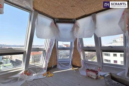Verlieben Sie sich jeden Tag auf´s Neue in diesen Ausblick! Wunderschönes Altbauhaus + Dachterrasse!