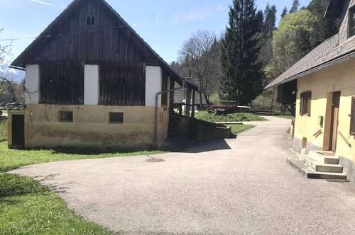 Altes Bauernhaus mit Stallgebäude in Ruhelage, sanierungsbedürftig
