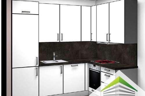 ERSTBEZUG Volksfeststraße: kompaktes 2 Zimmer Cityapartment mit Einbauküche!
