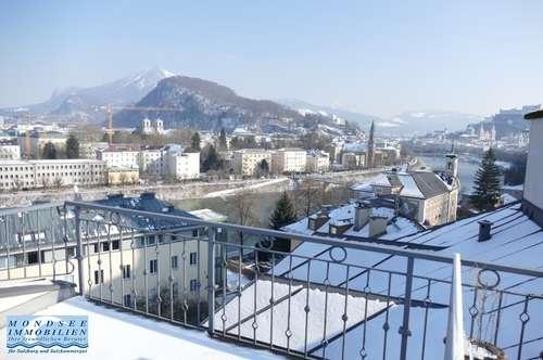 Terrassentraum über den Dächern Salzburgs