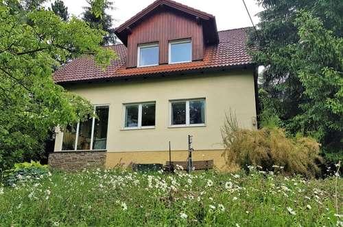 Einfamilienhaus mit herrlichem Garten in Mauerbacher- top- Ruhelage