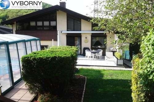 WOLFSGRABEN / Heimbautal - großzügiges Familiendomizil mit Sauna & Swimmingpool