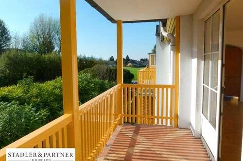 3 Zimmerwohnung mit großem Balkon und Untersberg-Blick!!!