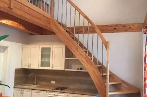 NEU AM MARKT: 1,5 Zimmer-Maisonette-Mietwohnung in Gansbach - absolute Ruhelage