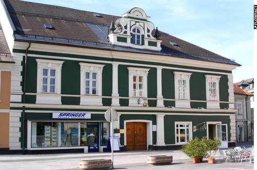 Altbau-Büroräumlichkeiten am Hauptplatz in Völkermarkt